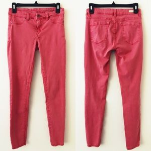 BLANK NYC Faded Red Skinny Jeans